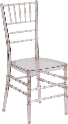 Flash Elegance Crystal Pink Stacking Chiavari Chair with Free Cushion, BH-PINK-CRYSTAL-GG by Flash Furniture by Flash Furniture | BizChair.c...