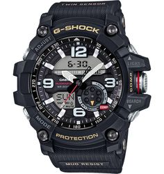 GG-10001-1AER: G-Shock Mudmaster twin sensor watch. With 3 years warranty. G-Shock Mudmaster mud resistant watch with compass & thermometer .
