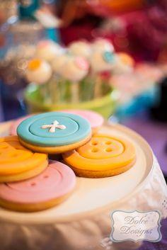 Cookies at a Lalaloopsy Party #lalaloopsy #partycookies