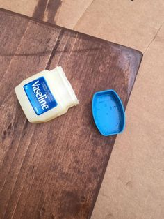How to use Vaseline to make to make a Rustic, Chippy Wood Sign