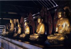 Japanese National Treasure, Seated statue of Amida Nyorai 阿弥陀如来座像(浄瑠璃寺)