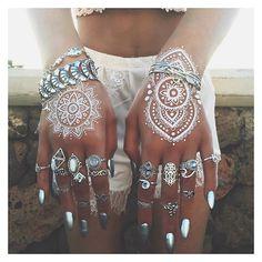 Instagram media by bohomoon - Tattoos and rings >> bohomoon.com