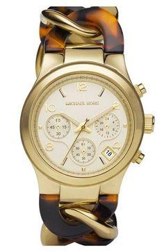 Michael Kors Chain Bracelet Chronograph Watch, 38mm