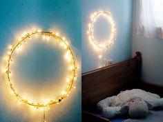 we can use christmas tree's lights!