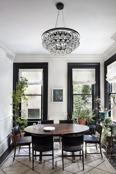 | black mouldings | - feelathomeinterior