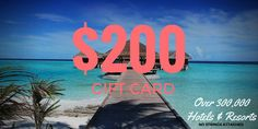 Your $200 VIP Club Card will get you private access to over 300,000 hotels and resorts worldwide at prices below retail No gimmicks. No strings attached. No commitments.