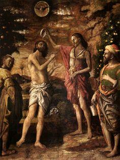 Baptism of Christ, Andrea Mantegna, ca. 1505