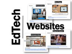 EdTech Websites by Category | TeachwithTech Blog