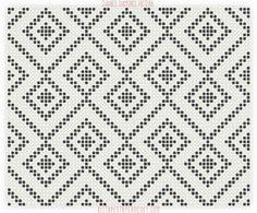 뜨개와수다의 만남   BAND Tapestry Crochet Patterns, Crochet Stitches Patterns, Weaving Patterns, Crochet Designs, Cross Stitch Patterns, Crochet Carpet, Crochet Shell Stitch, Bag Pattern Free, Tapestry Bag