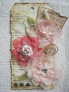 I love the flowers, Im into handmade chiffon flowers at the minute