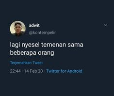 Reminder Quotes, Self Reminder, Mood Quotes, Quotes Lucu, Quotes Galau, Twitter T, Twitter Quotes, Tumblr Quotes, Funny Quotes