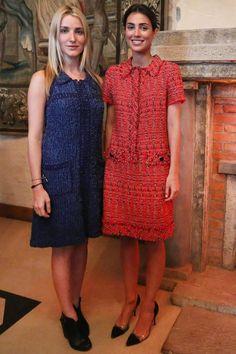 Hereditary Princess Ekaterina (Malysheva) of Hanover with her sister-in-law Princess Alessandra (de Osma) of Hanover Cozy Fashion, Royal Fashion, Spring Fashion, New York Socialites, Short Hair Model, Fancy Wedding Dresses, Linen Dresses, Womens Fashion, Fashion Trends
