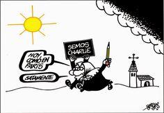 Tras el atentado a Charlie Ebdo, la revista sube como la espuma y aumenta la islamofobia - Foges - Spagna §