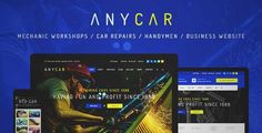 Download and review of Automotive, Car Dealer, Dealership WordPress Theme - AnyCar, one of the best Themeforest Corporative themes