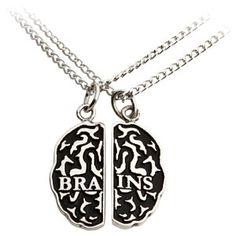 Zombie Friendship Necklace