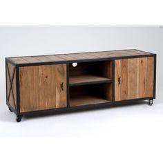 Meuble t l en bois brut peindre meubles d co - Meuble amadeus solde ...