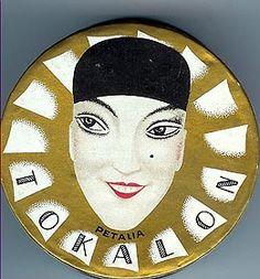 Tokalon French Face powder box c. 1920's
