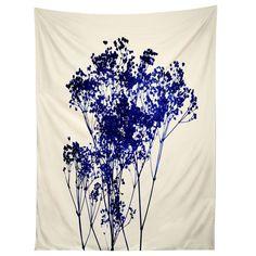 Garima Dhawan Babys Breath Indigo Tapestry | DENY Designs Home Accessories