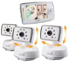 Summer Infant Dual View Digital Video Monitor Set + Extra Camera