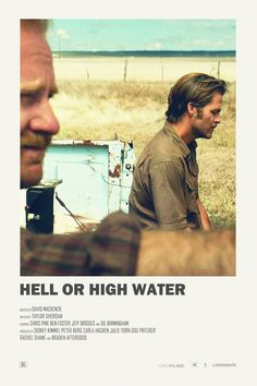 Hell or High Water alternative movie poster