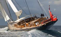 S/Y ERICA XII - beautiful 172 ft traditional sailing yacht from Vitters Shipyard