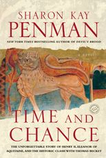Reread--Time and Chance  by Sharon Kay Penman