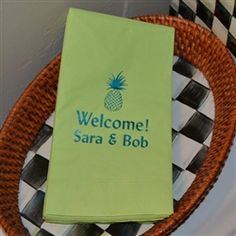 Paper Guest towels make your special occasions special!