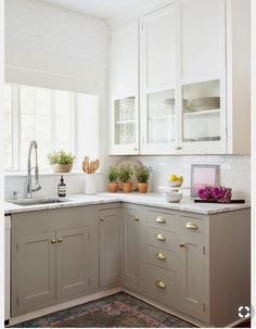 Small White Kitchens | Delightful Kitchen Designs | Pinterest | Small White  Kitchens, Kitchen Small And Small Small