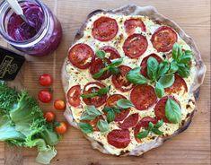 Tomatterte - FAMILIEMATBLOGG Pepperoni, Pizza, Food, Meal, Essen, Hoods, Meals, Eten