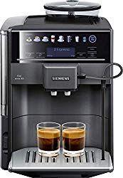 Siemens Eq 6 Te603201rw Super Fully Automatic Espresso Machine Coffee Capuccino Latte Maker Onetouch Doublecup System Silver Espresso Coffee Machine Espresso Machine Automatic Espresso Machine