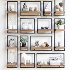956 vind-ik-leuks, 9 reacties - De Troubadour Interieurs (@detroubadourinterieurs) op Instagram: 'Stel je eigen wanddecoratie samen met Shelfmate. Combineer elementen in verschillende groottes voor…'