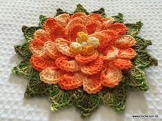 Mega flor escamas passo a passo (129)