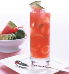 Watermelon ~ Champagne Cocktail
