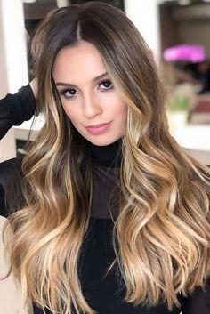 The Trendiest Fall Hair Colors For Every Hair Type | Subtle Hair Color, Fall Hair Colors, Balayage Brunette, Balayage Hair, Haircolor, Haircuts For Thin Fine Hair, Short Red Hair, Hair Looks, Hair Type