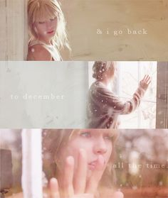 """""""back to december""""....... one of my favorite songs!!"""