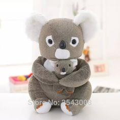 Pas cher Livraison gratuite! 30cm \ 40 cm de haute qualité Mignon koala en peluche jouet de poupée gris ours jouets pour enfants cadeau d'anniversaire, Acheter  En peluche et Animaux En Peluche de qualité directement des fournisseurs de Chine:détails du produittissu: doux en peluche (polyester)emballage: 100% de haute qualité PP cotontaille: 30 cm/40 cmcom