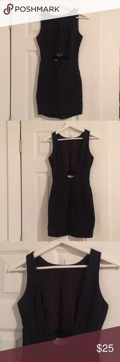 LF LBD New Size XS LF Little Black Dress / middle cut out / low cut back/ new / Size XS or 6 LF Dresses Mini