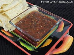 For the Love of Cooking » Charred Vegetable Salsa