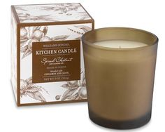 Williams Sonoma spiced chestnut candle..YUM