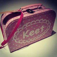 #kinderkoffertje Keet van www.bepenco.com