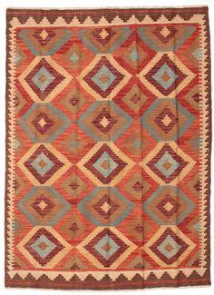 Kelim Afghan Old style matta 147x200