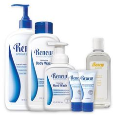 Absolute BEST Skin Care products EVER. Dry skin, cracked heels, psoriasis, excema, etc. - works on everything!! Love my renew.
