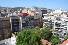 Vistas desde el tejado de La Pedrera, Barcelona