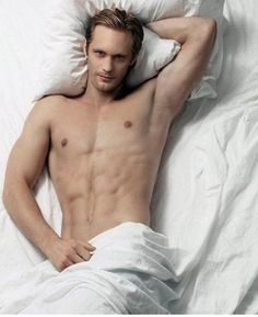 If. They. Ever. Make 50 Shades of Grey into a movie, Alexander Skarsgard HAS to play Christian Grey! :)