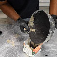Easy Concrete Planter - Beton Creations - Home Crafts Diy Crafts Hacks, Diy Home Crafts, Diy Crafts Videos, Diy Videos, Diy Craft Projects, Homemade Crafts, Best Diy Projects, Decor Crafts, Tile Crafts