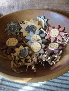 Blooms Salt Dough Bowl Fillers