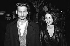 Johnny Depp + Winona Ryder