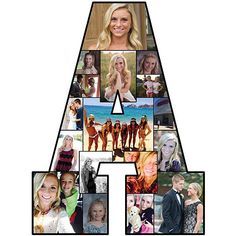 This Photo Letter M will feature a collage of your very own photos! Use Photo Letters to accent your table at graduation parties, weddings and more. Letter Collage, Stumps Party, Graduation Party Planning, Graduation Ideas, Custom Yard Signs, Trunk Party, Photo Cutout, Fairytale Party, Personalized Banners