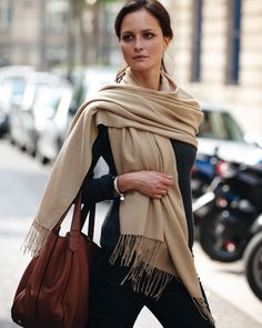 Pashmina shawls - every charity shop has these -real cashmere/silk blends are for the rummaging!