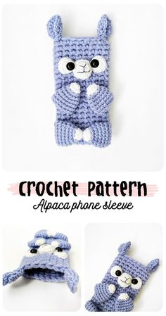 This crochet alpaca phone case is perfect for those of us who can't have too much protection around our phone haha! I would love to get this as a gift or find it in my stocking! Crochet Case, Crochet Phone Cases, Cute Crochet, Crochet Crafts, Crochet Projects, Sewing Projects, Alpacas, Alpaca Funny, Pochette Portable